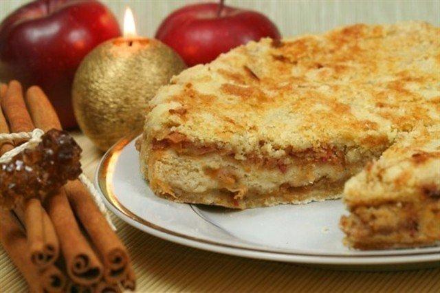 Пирог на блюде