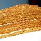 Торт Рыжик с медовыми коржами