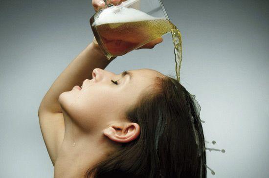 Ополаскивание волос экстрактом
