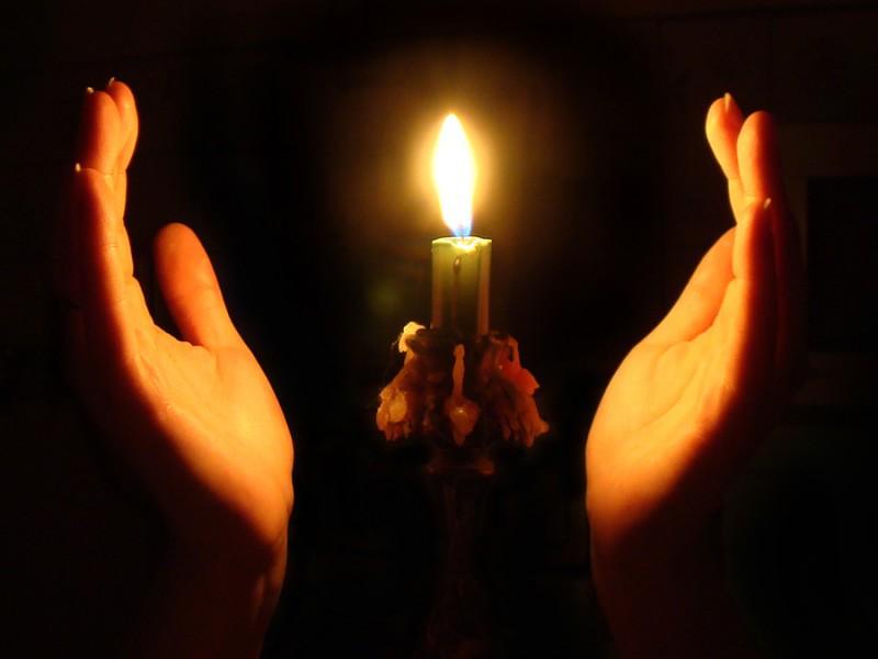 Свеча на подставке