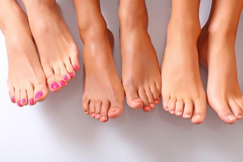 Здоровые женские ножки