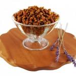 Пчелиный хлеб в вазочке