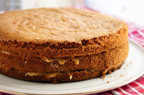 Готовим «королевскую» выпечку — бисквит на меду