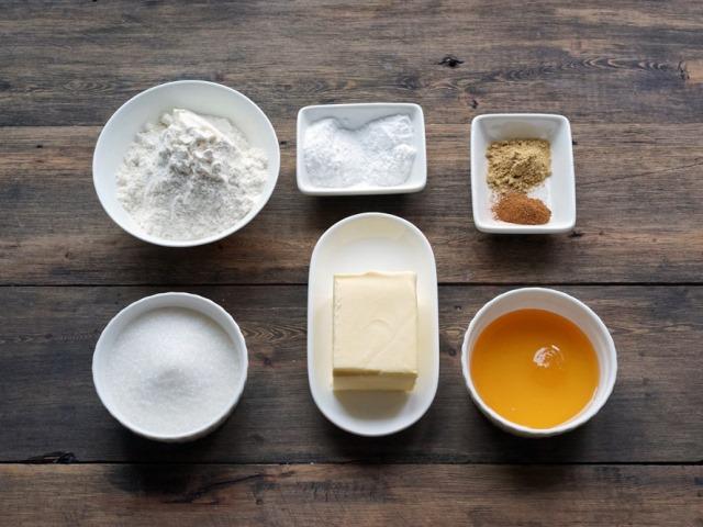 Ингредиенты для медового печенья