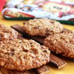 Медовое печенье с овсяными хлопьями