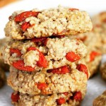 Медовое печенье с ягодами