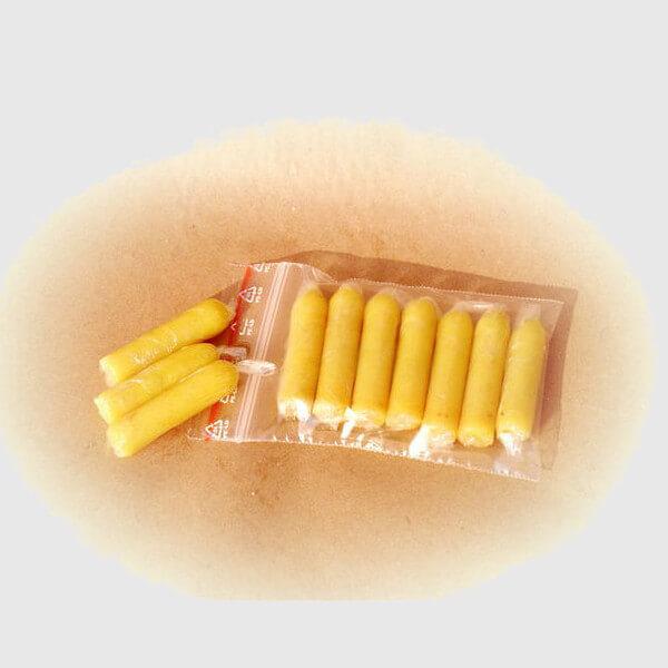 Прополисные свечи в пакете