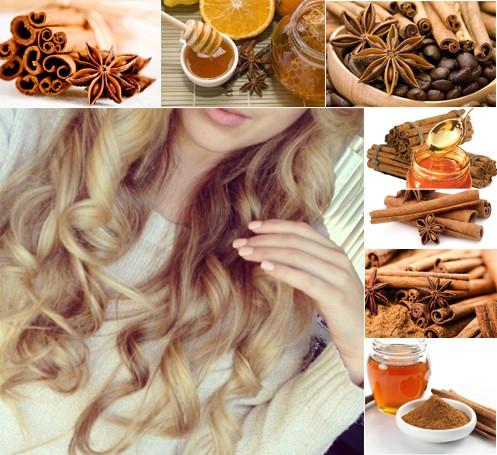 Светлые волосы и мед