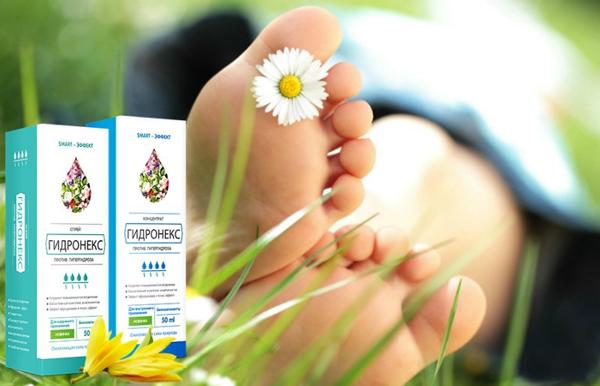 Здоровые ноги и препарат Гидронекс