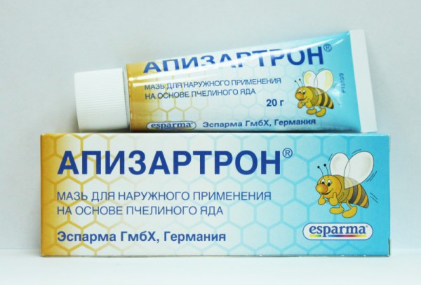 Апизатрон на основе пчелиного яда