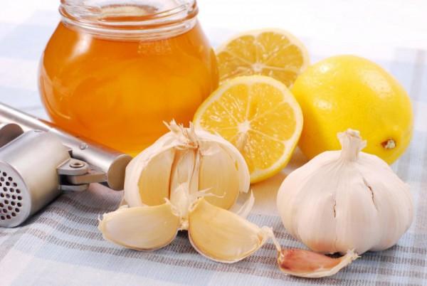 Медок, лимон и чеснок