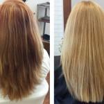 Волосы после осветления медом