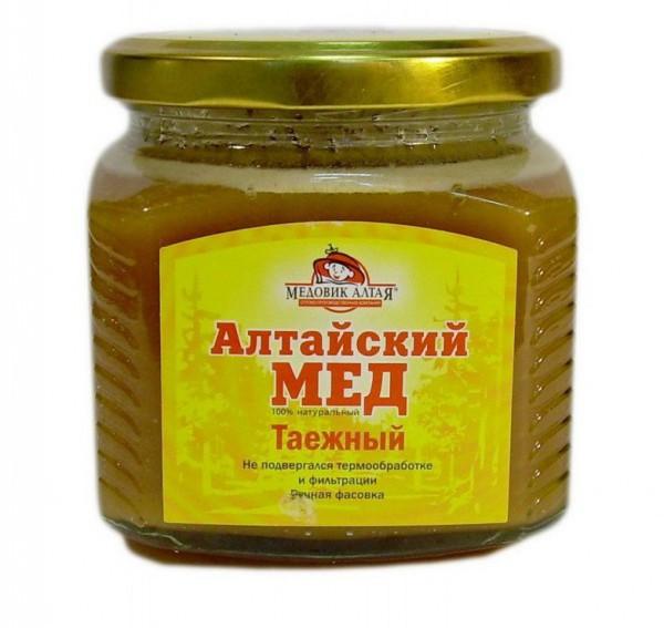 Баночка Алтайского меда