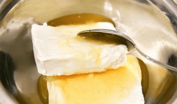 Творожная масса с медом