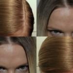 Результат обесцвечивания волос