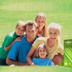 Счастливая семья на фото