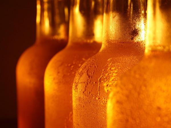 Медовуха хранится в бутылках