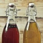 Различные виды медовухи в бутылках