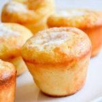 Лимонное пирожное с шафраном