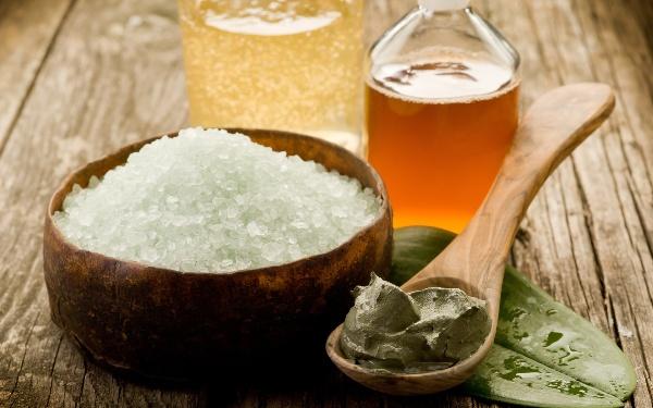 Соль и смеси для скраба