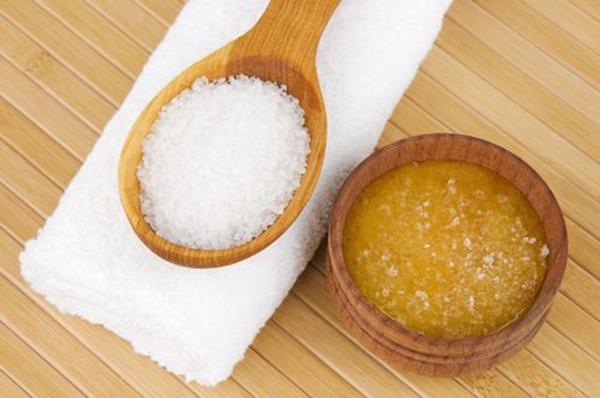 Соленой скраб для ванной