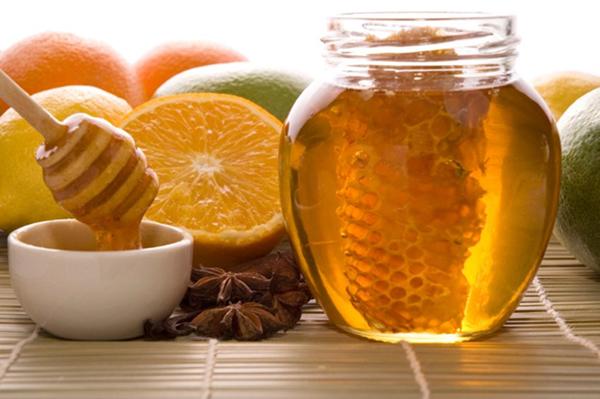 Пчелиные соты и цитрусовые