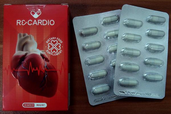 Блистер с капсулами и упаковка препарата
