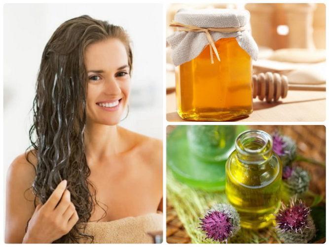 Домашние рецепты масок для волос с медом