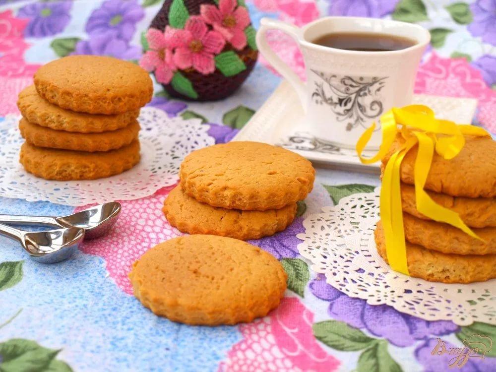 Мягкое медовое печенье