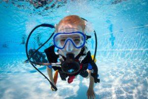 Дети, подводное плавание с аквалангом и безопасность