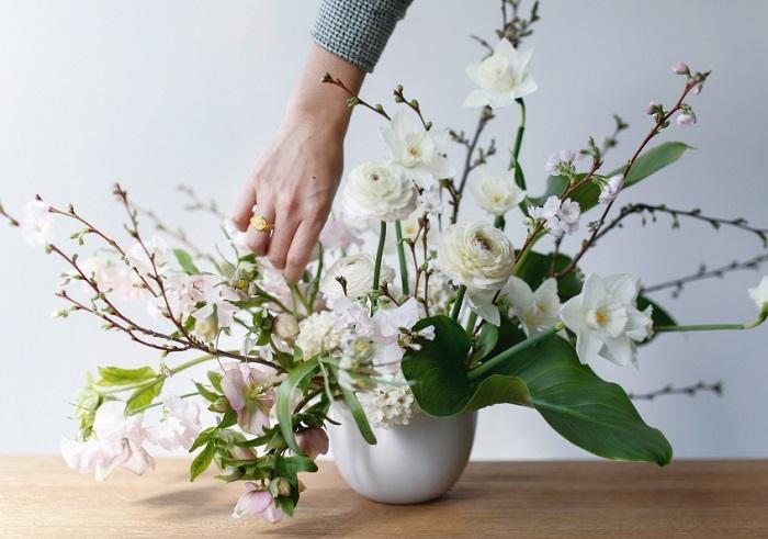 Цветочные композиции: ускоренный курс для простых и элегантных цветов