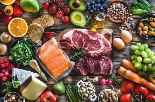 Наслаждайтесь корзиной свежих продуктов
