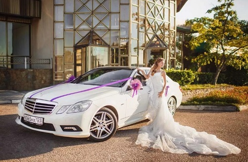 Аренда свадебного автомобиля в Севастополе