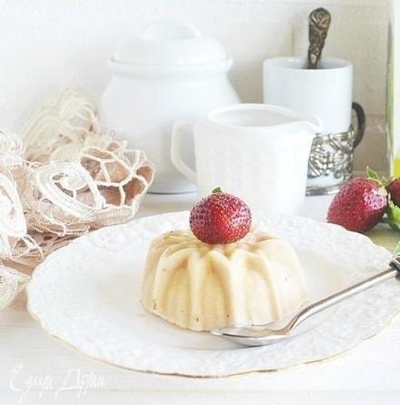 Мороженое из ряженки с белым шоколадом и медом