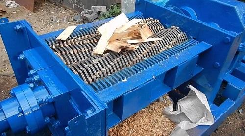 Измельчение твердых бытовых отходов
