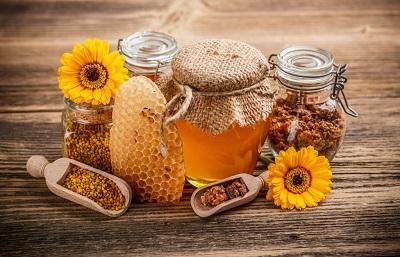 Продукты пчеловодства и их использование в косметике