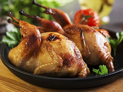 Мясо перепела против куриного мяса